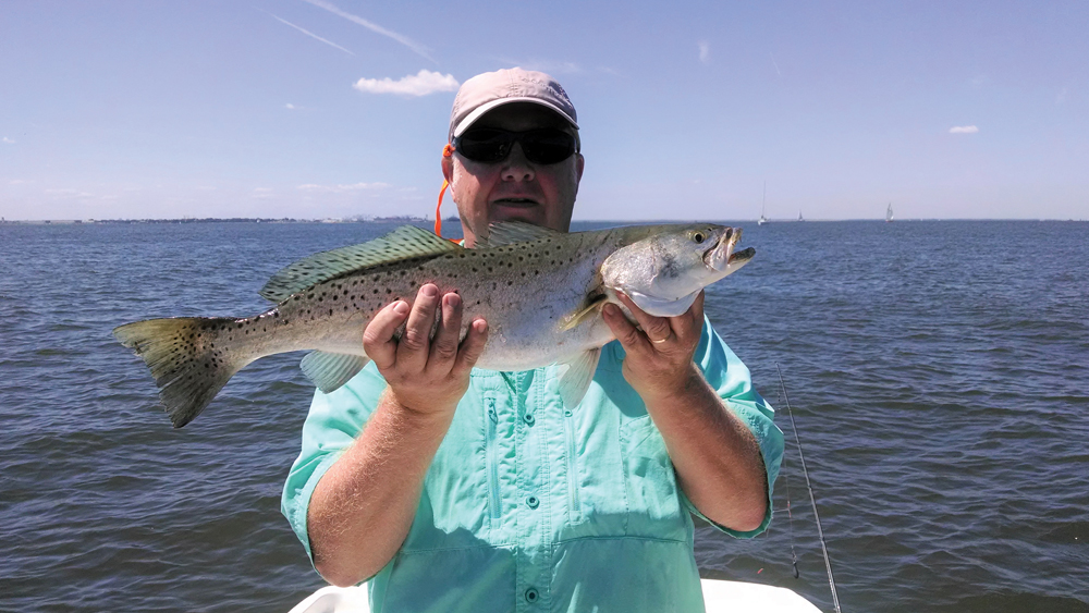 hampton roads bridge tunnel speckled trout
