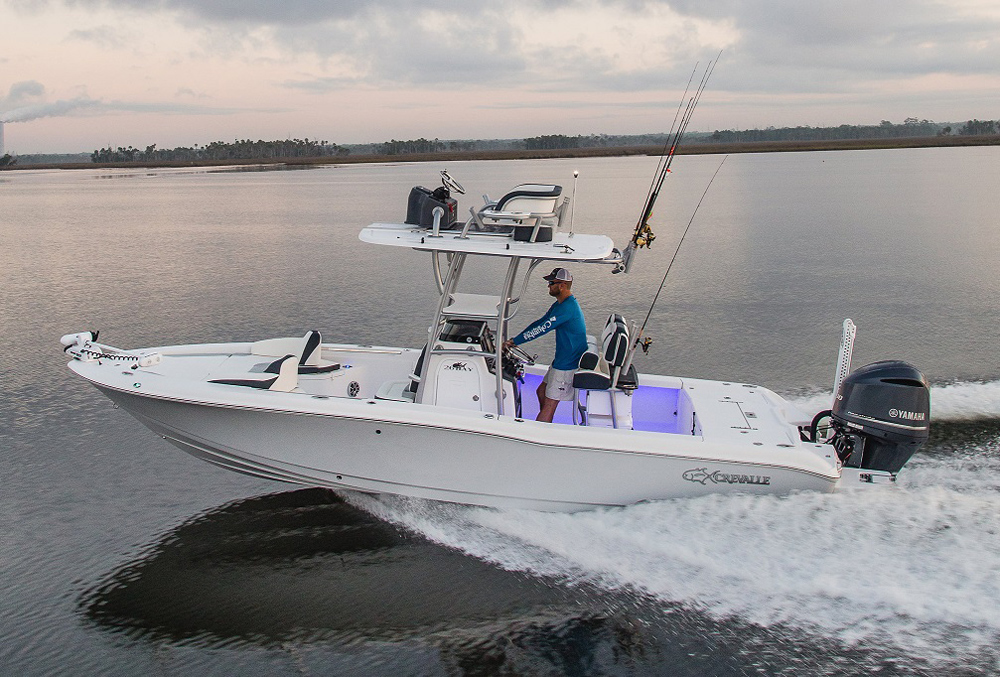 crevalle 26 bay boat