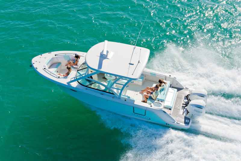 robalo 317 dual console running