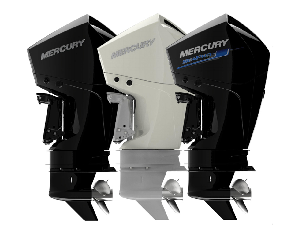New mercury v6 four stroke outboard motors introduced for New outboard boat motors