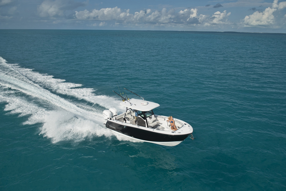 Blackfin 272cc fishing boat
