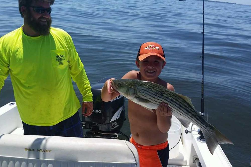 July 2017 upper chesapeake bay fishing report fishtalk for Chesapeake bay fishing report
