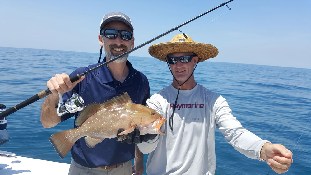 red grouper caught in clearwater