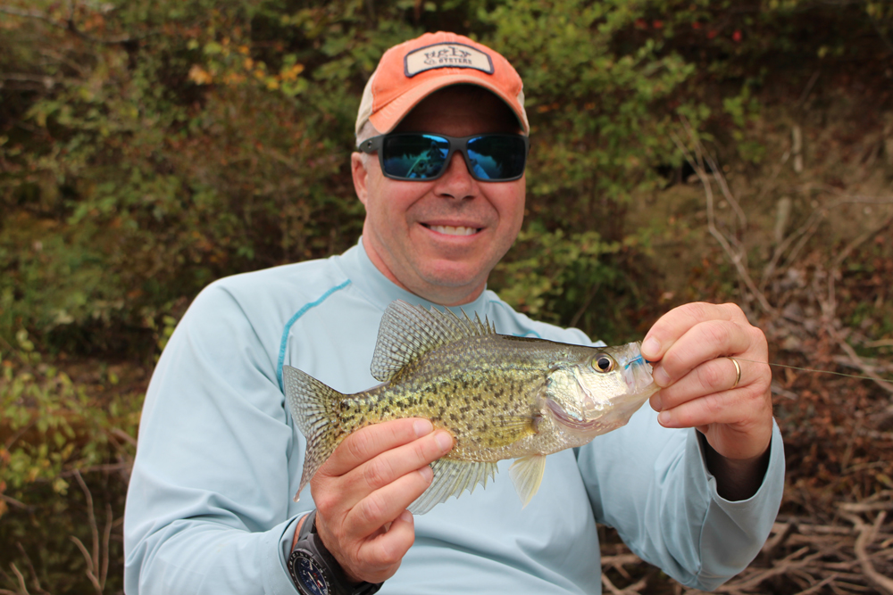 crappie fishing with an ultralight