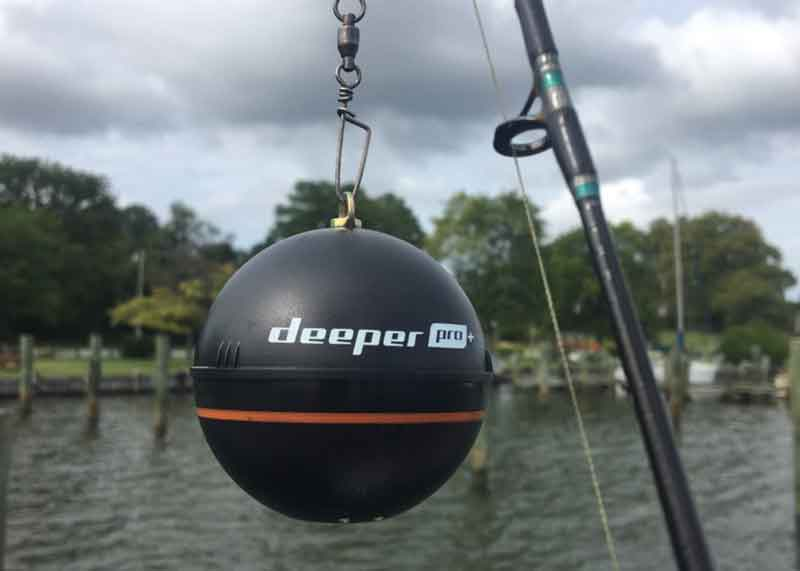 deeper fishfinder for casting
