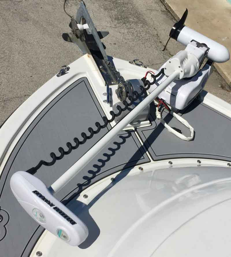 bow mount electric trolling motor