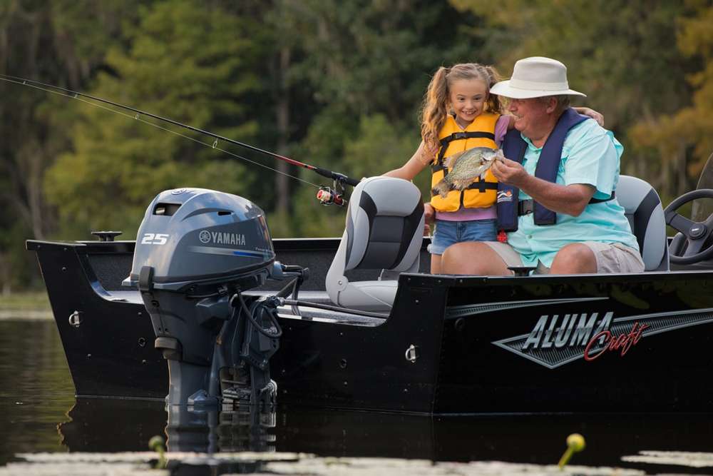 Yamaha f25 outboard engine test and review fishtalk magazine for 25 hp outboard motor reviews
