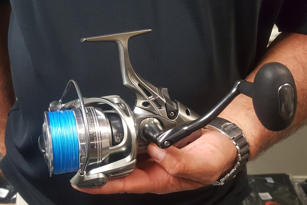 spinning reel for fishing