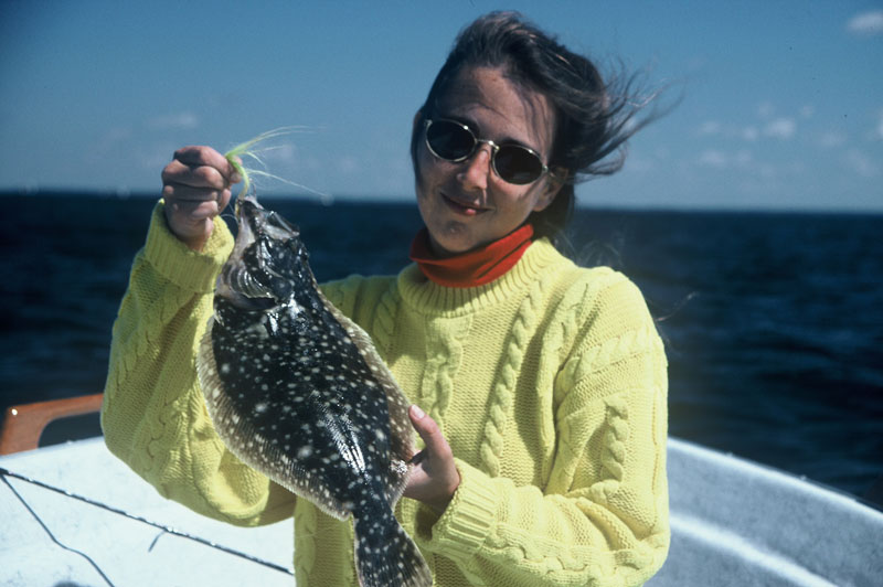 flounder caught in chesapeake bay