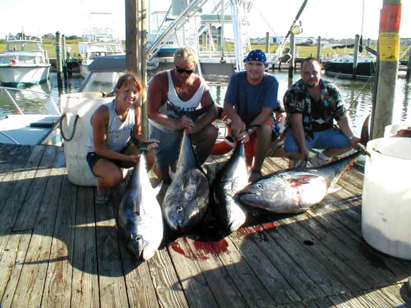 tuna caught at the jack spot
