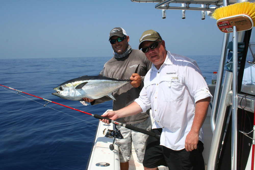 tuna from fishing in key west