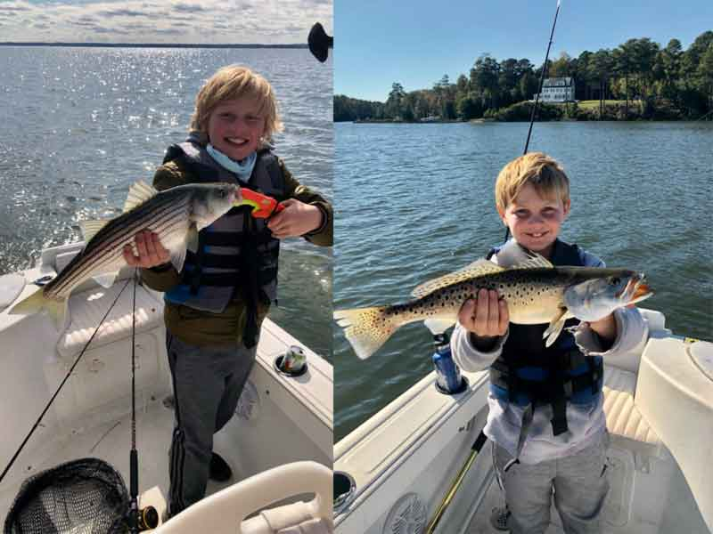 lower Chesapeake kids fishing