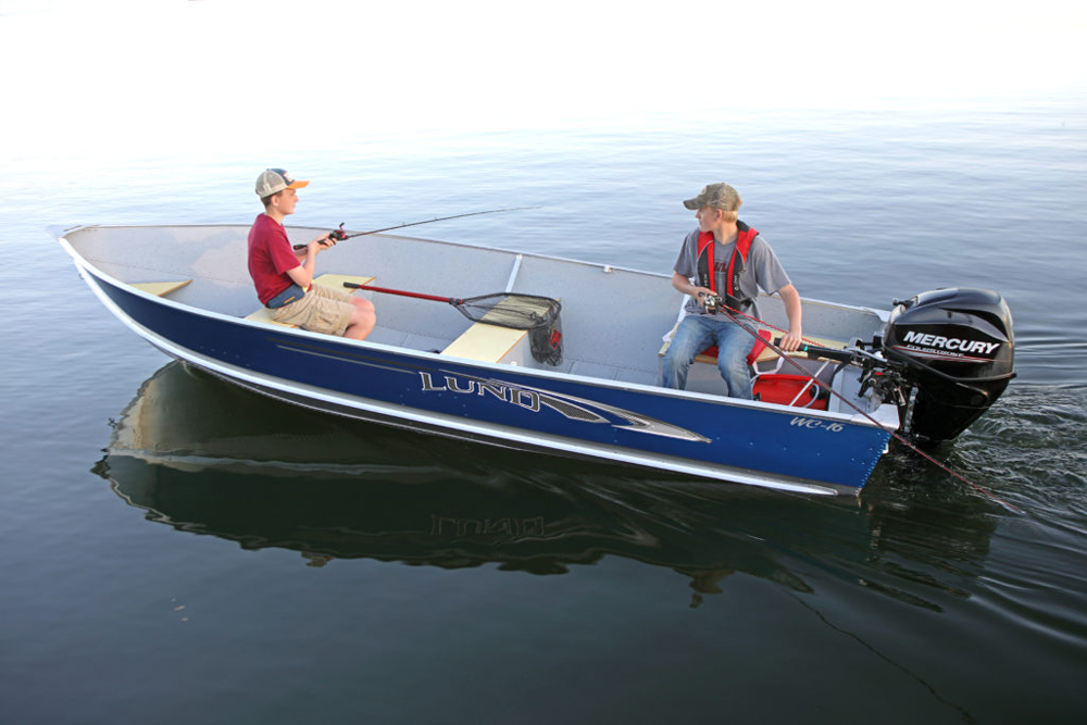 inexpensive lund fishing boat