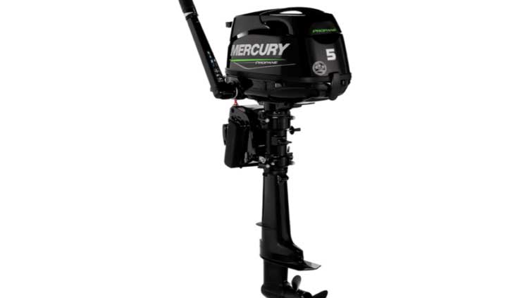 mercury propane outboard engine