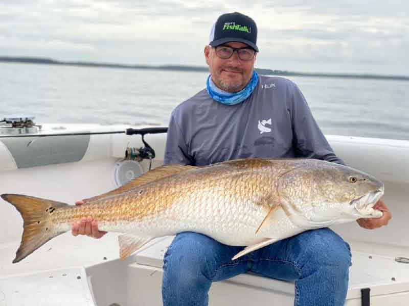 eric packard caught a huge bull red