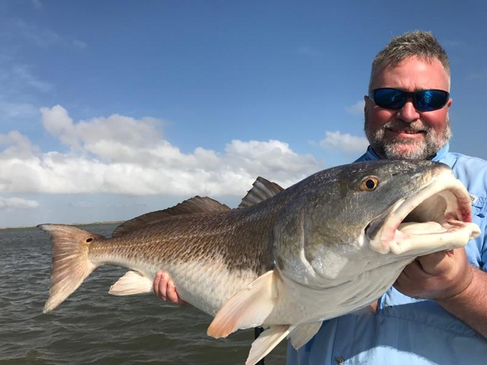 catching red drum