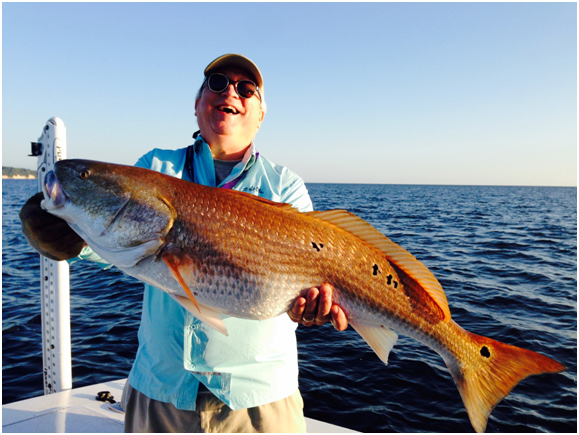 chesapeake bay fishing for redfish
