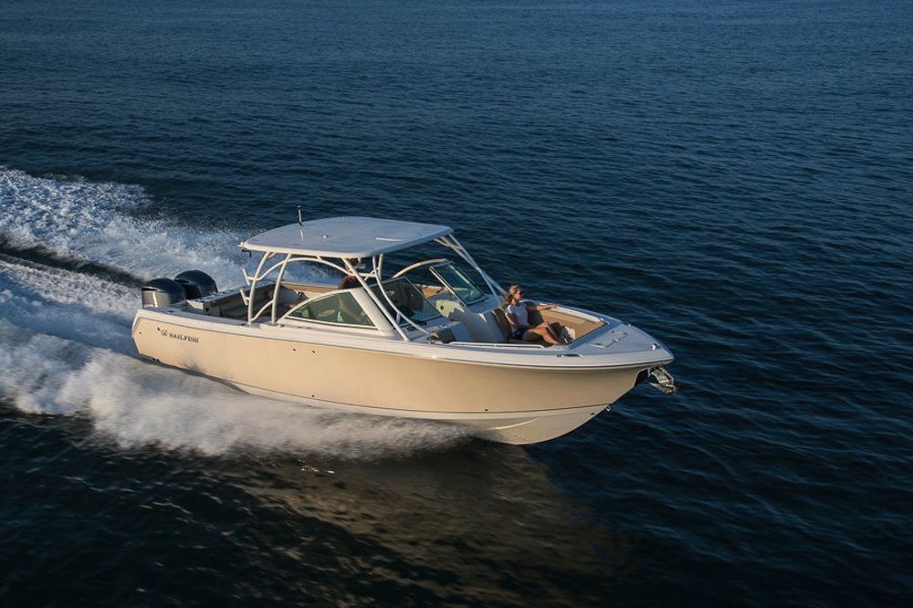 sailfish 325 dc fishing boat
