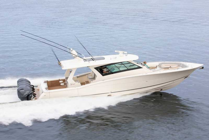 scout 530 lxf center console fishing yacht