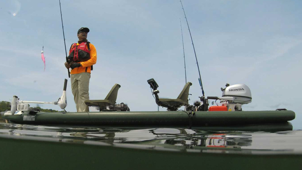 sea eagle inflatable fishing boat