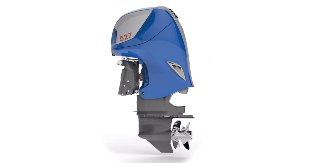 Larger than the average production outboard, the Seven Marine 527 is based on the Cadillac