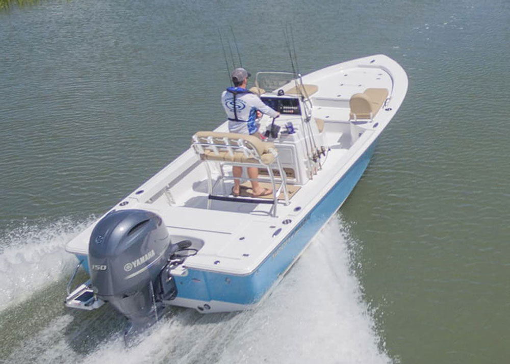 If a new bay boat is in your future, you might want to check out the Sportsman Masters 207.