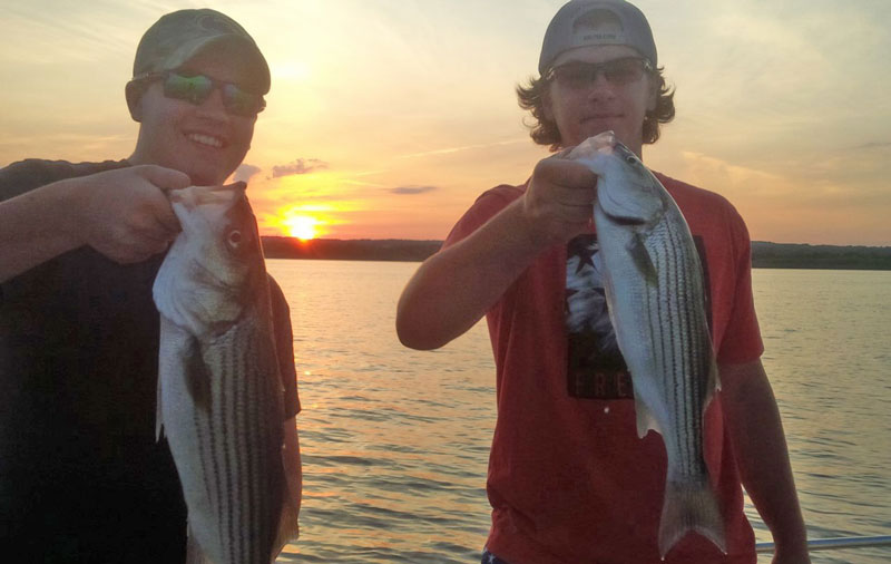 fishing for susquehanna stripers