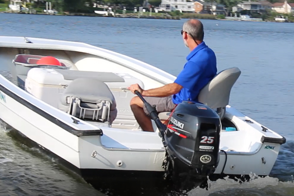 suzuki 25 horsepower outboard test and review