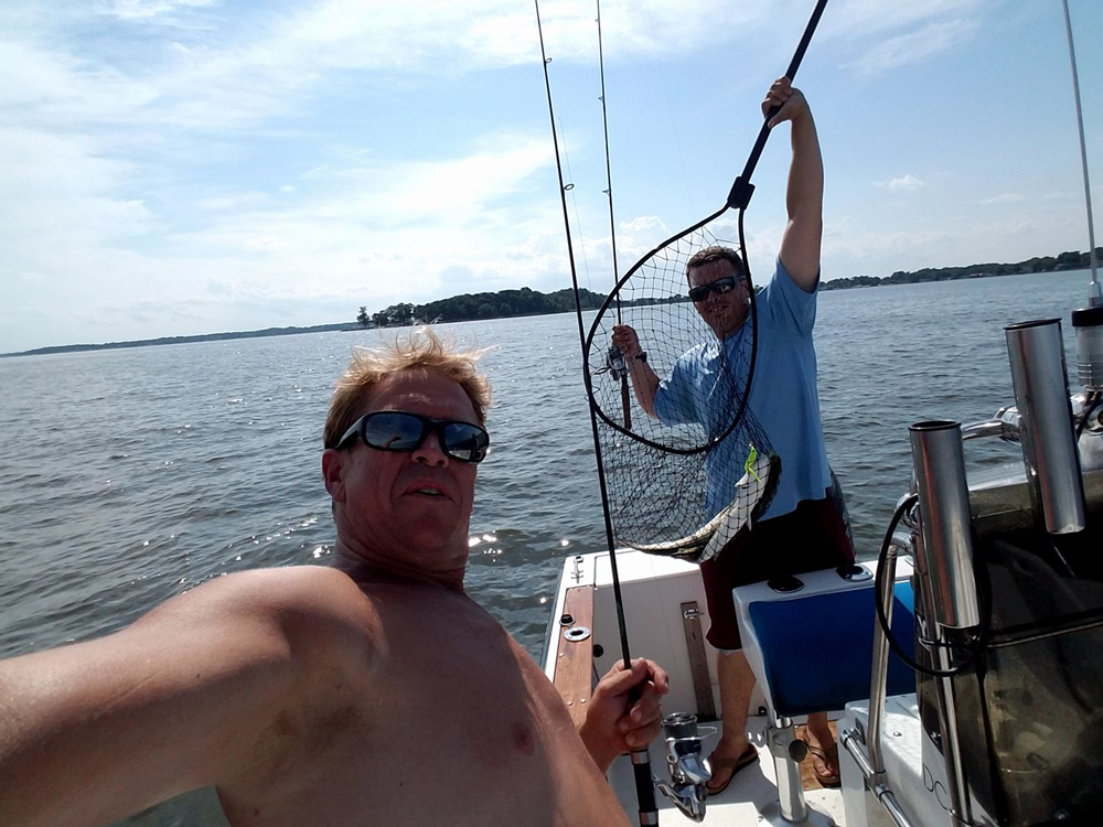 Middle chesapeake bay fishing report august 2017 for Middle chesapeake bay fishing report