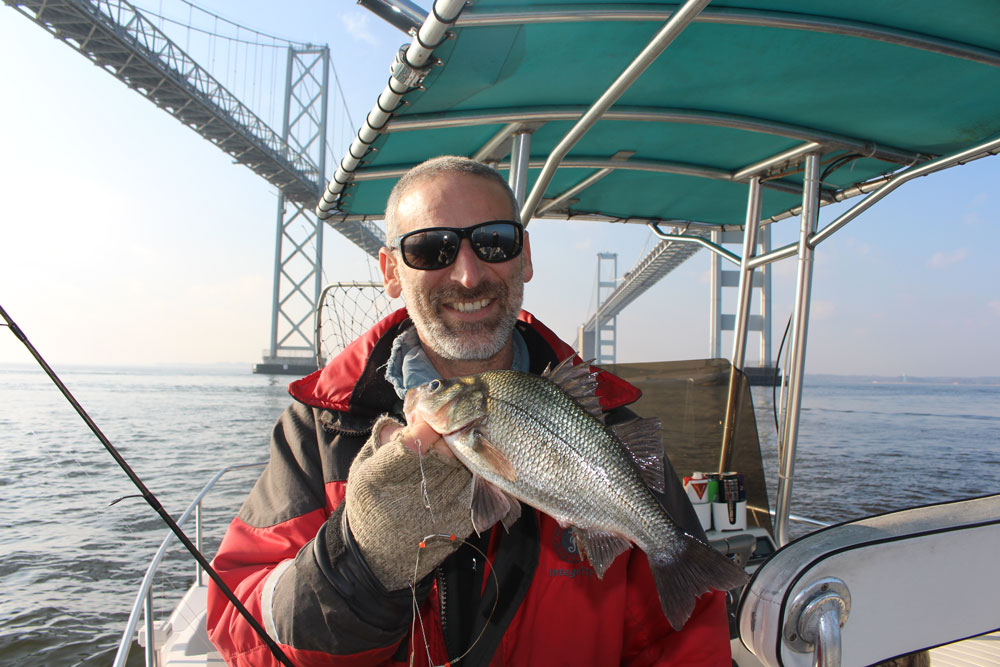 December 2017 upper chesapeake bay fishing report for Chesapeake bay bridge fishing report