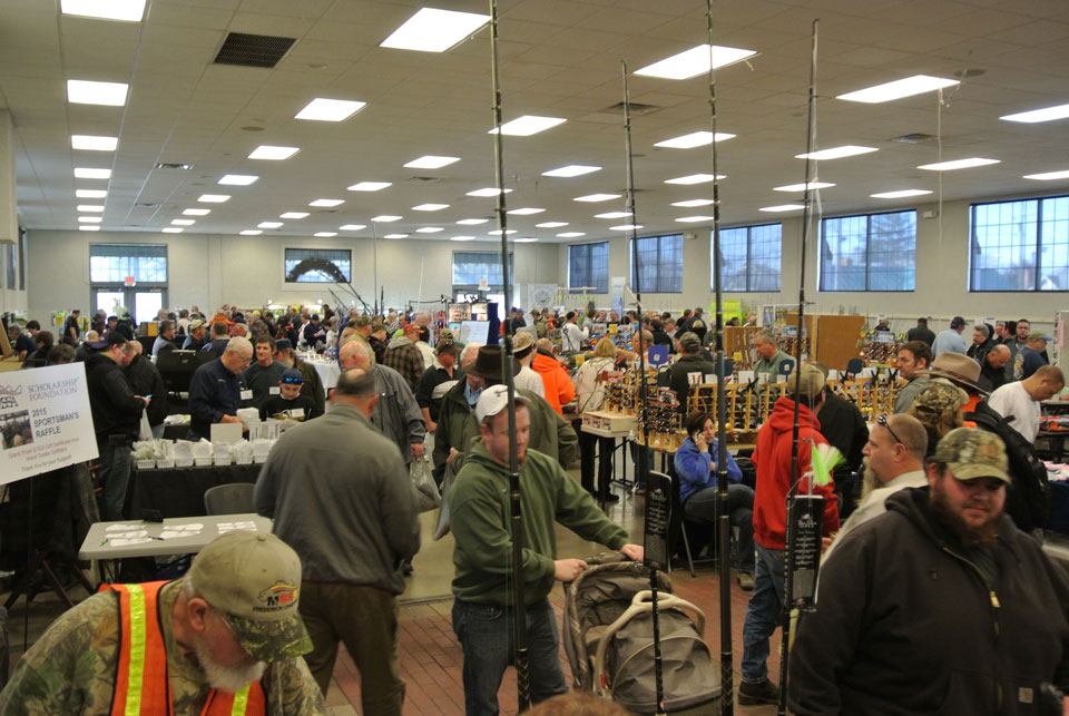 winter fishing tackle show