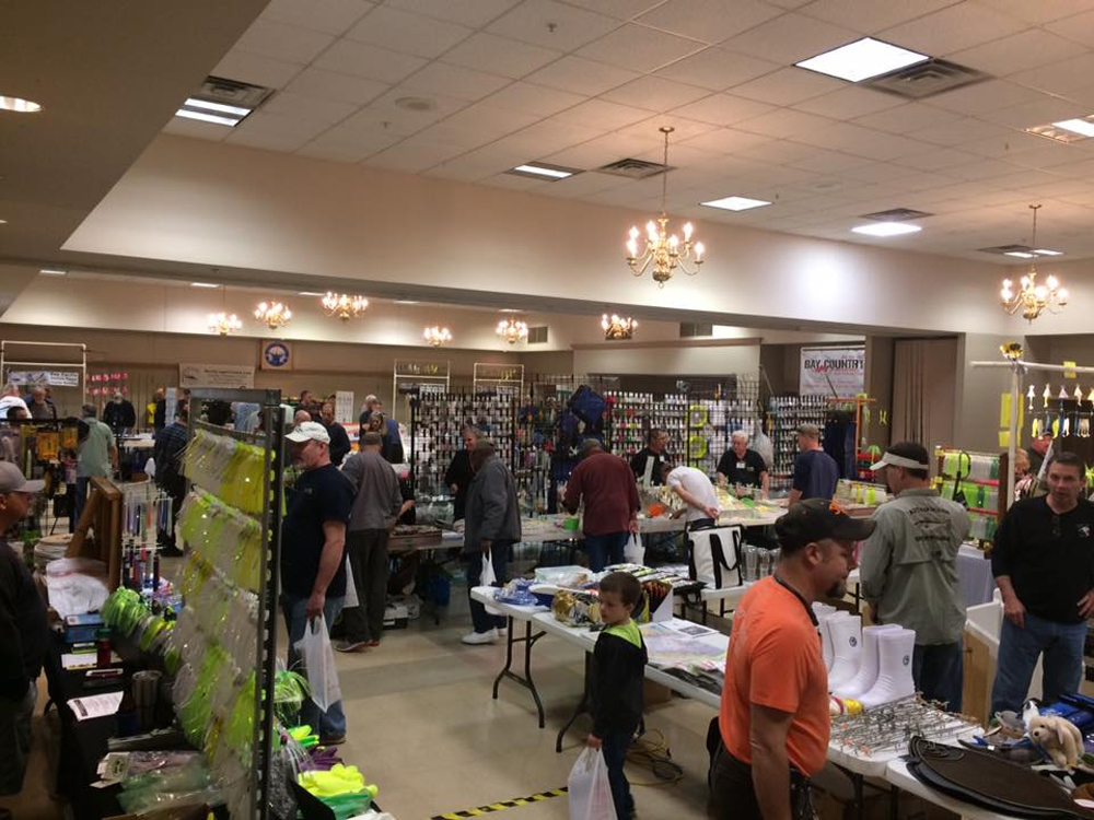 fishing tackle shows held over the winter