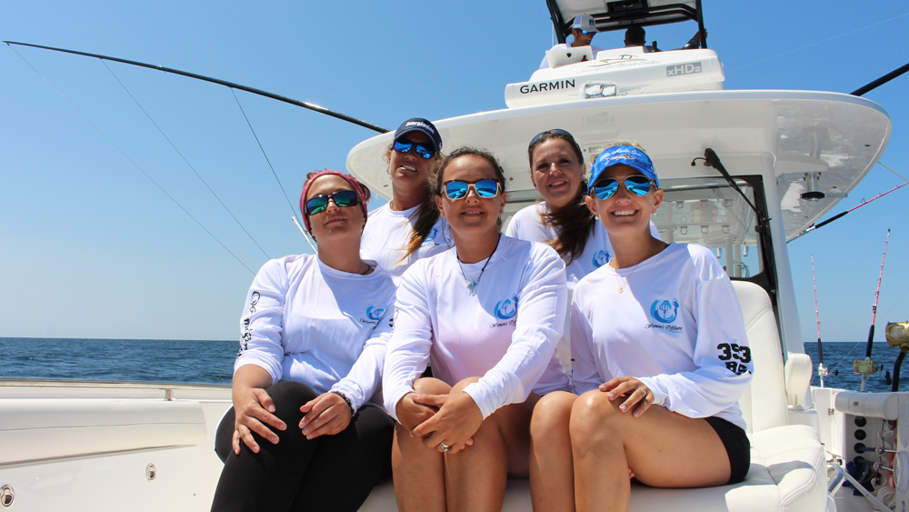 womans offshore alliance fishing team