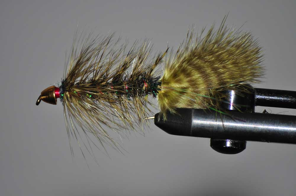 wooly bugger fly for bass fishing